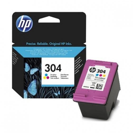 hp-tinta-n9k05ae-no-304-tri-colour