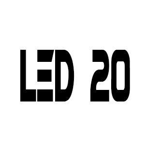 """LED 20"""""""