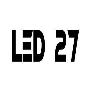 """LED 27"""""""